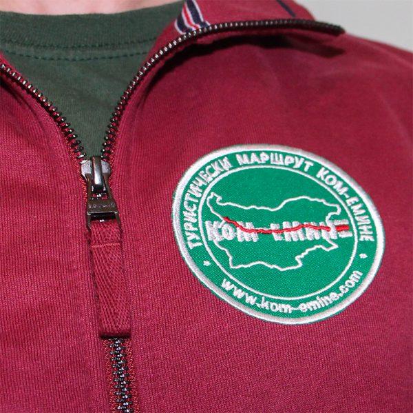 Kom-Emine embroidery patch